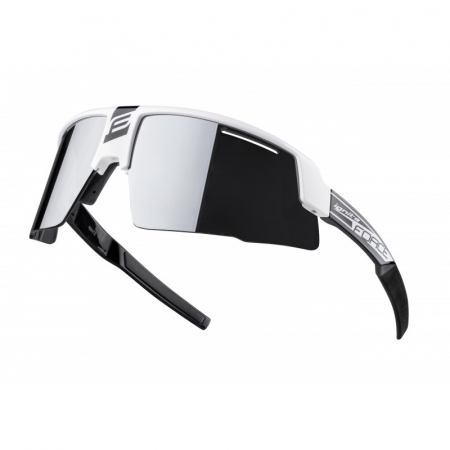 Ochelari Force Ignite, alb/negru, lentila neagra [0]