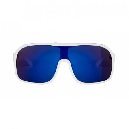 Ochelari Force Mondo alb mat, lentila albastra [2]