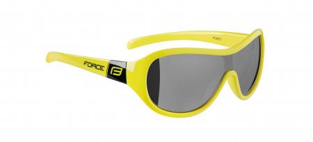 Ochelari Force Pokey lentile negre galben fluo [1]