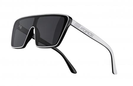 Ochelari Force Scope, lentile negre, albi [0]