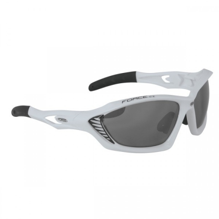 Ochelari sport Force Max albi [0]