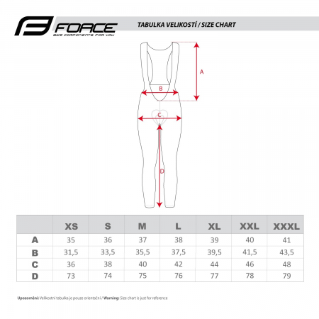 Pantaloni Force F58 cu bretele si bazon Negru-Gri XS [6]