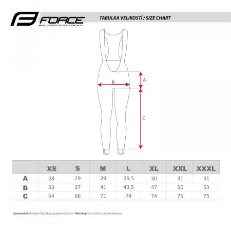 Pantaloni Force Windster Z68 PRO fara bazon negri XXL [6]