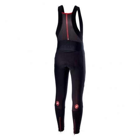 Pantaloni lungi cu bretele Castelli Sorpasso 2 Wind, Negru/Gri reflex, L [1]