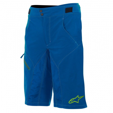 Pantaloni scurti Alpinestars Outrider Water Resistant Base Shorts dark blue/lime 30 [1]