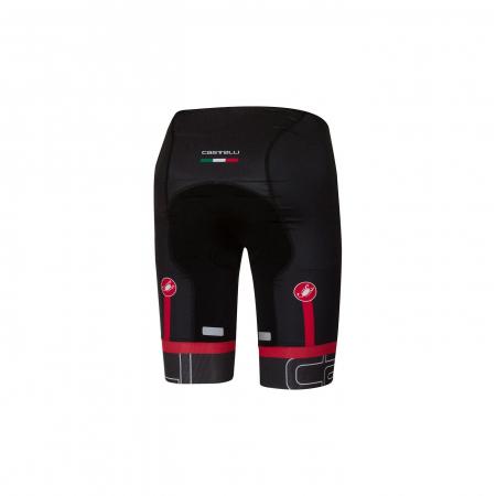 Pantaloni scurti Castelli Volo, Negru/Alb, S [1]