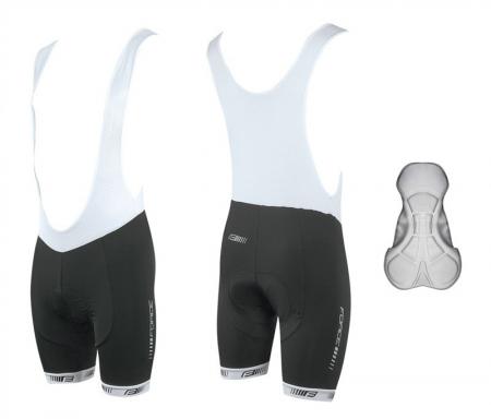 Pantaloni scurti cu bazon si bretele Force B38 XS [2]