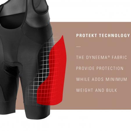 Pantaloni scurti cu bretele Castelli Free Protect Race Negru L [3]