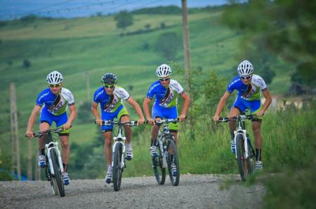 Pantaloni Ciclism Veloplus, Felt-Sidi MTB Team 2014, S [4]