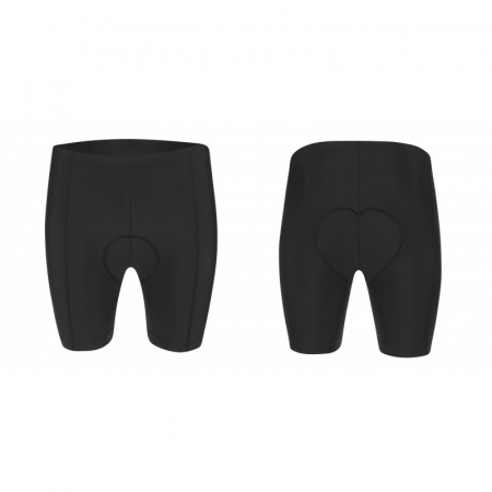 Pantaloni scurti Force Storm pana la talie cu bazon, negru/gri 3XL [3]