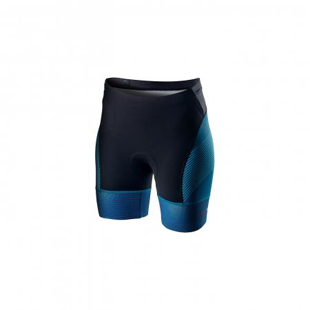 Pantaloni scurti pentru triatlon Castelli Free W Tri, de dama, Albastru Multicolor S [0]