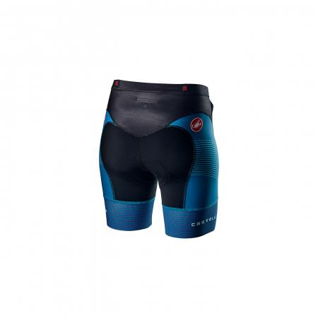 Pantaloni scurti pentru triatlon Castelli Free W Tri, de dama, Albastru Multicolor S [1]