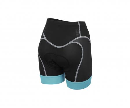 Pantaloni scurti pt triatlon Castelli Free W Tri, de dama, Negru/Bleu [1]
