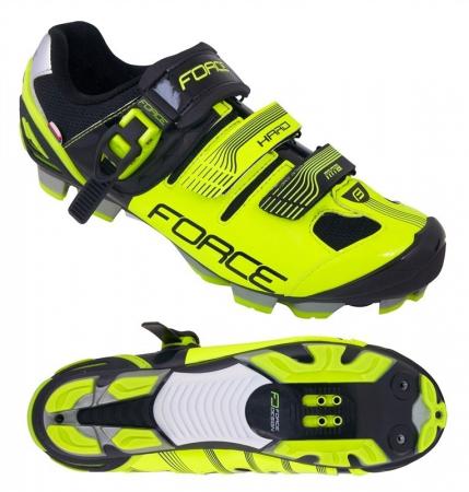 Pantofi Force MTB Hard negru/fluo 45 [0]