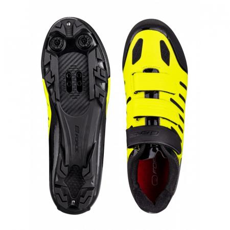 Pantofi Force MTB Tempo, fluo/negru, 39 [2]