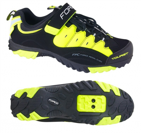 Pantofi Tourist Force negru/fluo 47 [0]