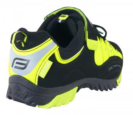 Pantofi Tourist Force negru/fluo 47 [3]