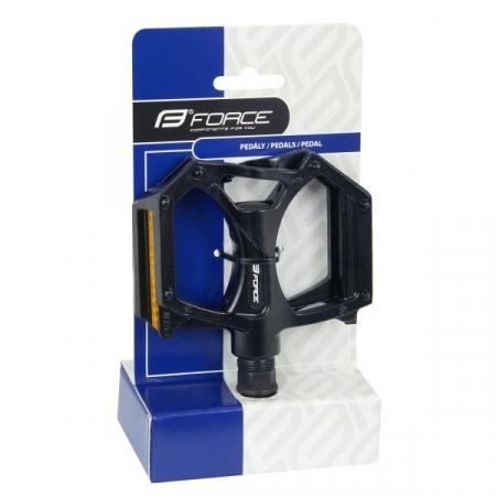 Pedale Force BMX aluminiu negre [1]
