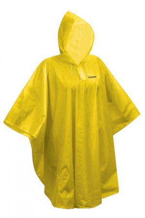 Pelerina ploaie Force Poncho Kid, pentru copii, 120-160cm, galbena [0]
