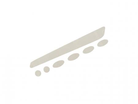 Autocolant protectie cadru BBB BBP-50 BikeSkin Transparent [0]