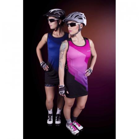 Rochie sport Force Abby roz/negru L [2]