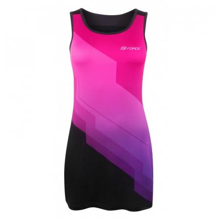 Rochie sport Force Abby roz/negru L [0]