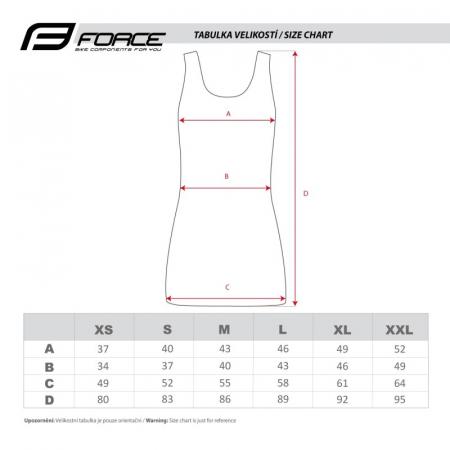 Rochie sport Force Abby roz/negru L [3]
