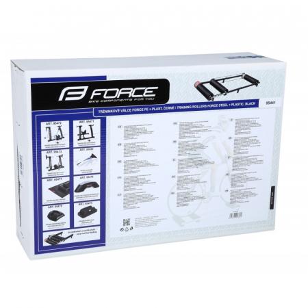 Roler Training Force Otel/Plastic Negru [3]