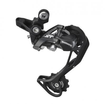 Schimbator spate Shimano Deore XT RD-M781-SGS-L, 10 viteze, patina lunga, negru [0]