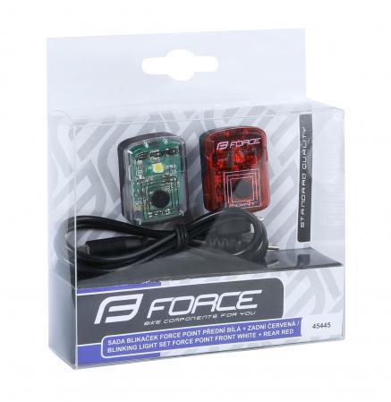 Set lumini Force Point USB fata+spate [2]