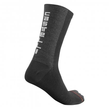 Sosete Castelli Bandito Wool 18 Negre S/M 36-39 [1]