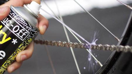 Spray Muc-Off Dry PTFE Chain Lube Aerosol 400ml [4]