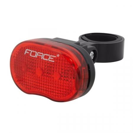 Lumina spate Force TRI Rosu, 3 LED-uri [0]