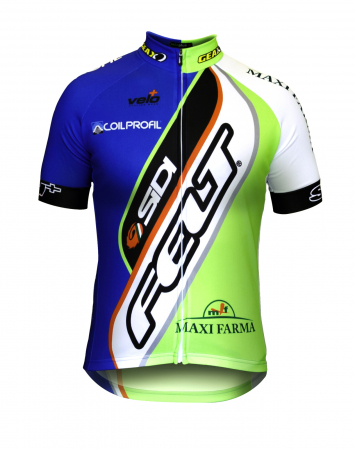 Tricou Ciclism Veloplus, Felt-Sidi MTB Team 2014, S [0]