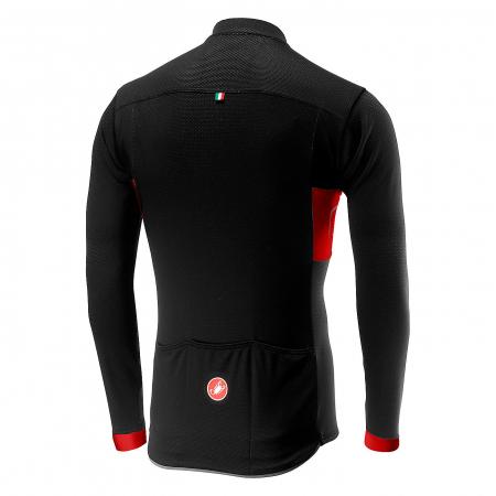Tricou cu maneca lunga Castelli Prologo VI Negru/Rosu/Negru L [1]