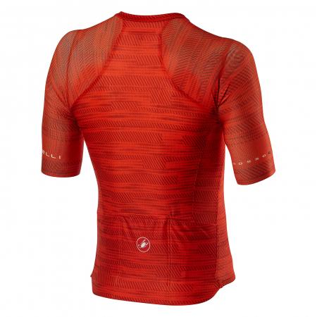 Tricou cu maneca scurta Castelli Climbers 3.0 Fiery Red S [1]