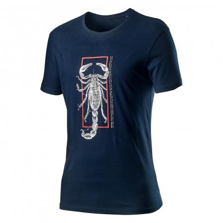 Tricou cu maneca scurta Castelli Logo Tee Albastru Inchis L [0]