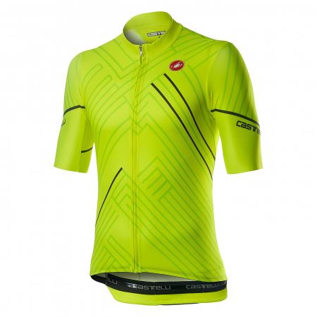 Tricou cu maneca scurta Castelli Passo Verde Neon XL [0]