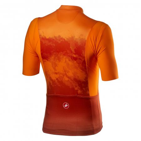 Tricou cu maneca scurta Castelli Polvere Orange S [1]
