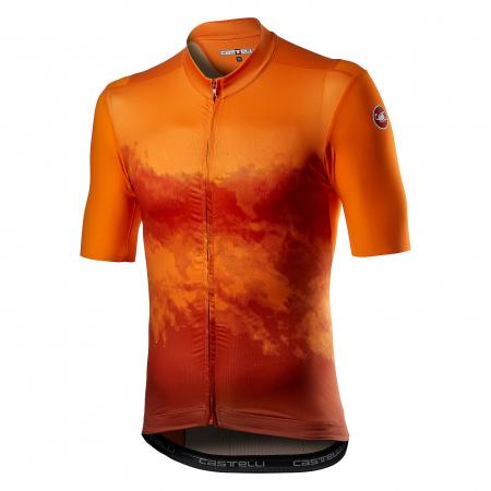 Tricou cu maneca scurta Castelli Polvere Orange S [0]