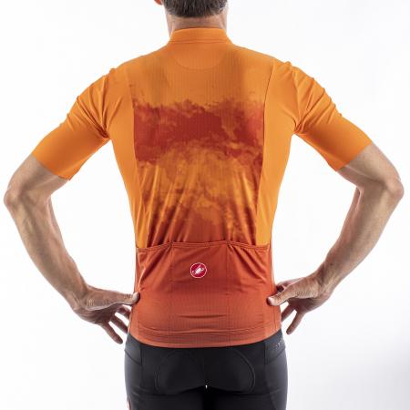 Tricou cu maneca scurta Castelli Polvere Orange S [4]