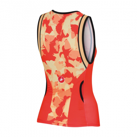 Tricou Dama Pt Triatlon, Castelli Core W Tri Singlet, Portocaliu, XS [1]