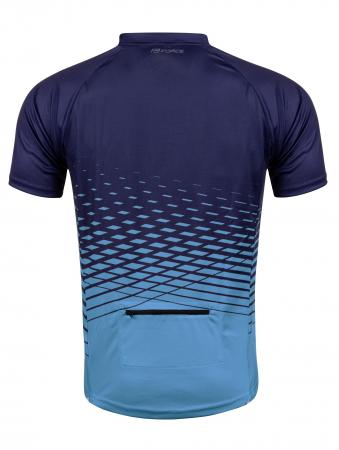 Tricou maneca scurta Force MTB Angle albastru L [1]