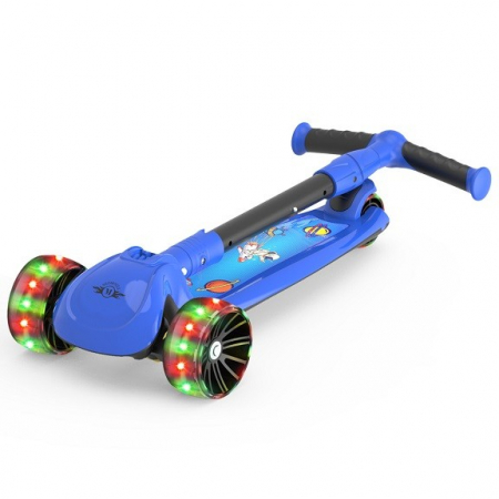 Trotineta copii Megawheels Albastru, 3 roti [1]