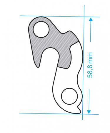 Ureche cadru Union GH-014 [4]