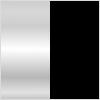 Angrenaj single speed M-Wave 350379, argintiu/negru, brate 165mm, 44 dinti