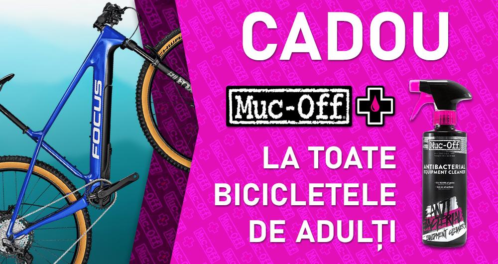 Cadou Muc-Off la toate bicicletele de adulti