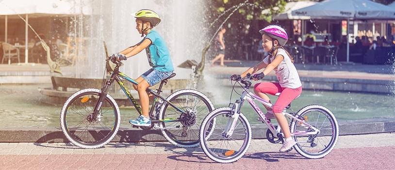 În Aprilie ai o casca CADOU la fiecare bicicleta de copii