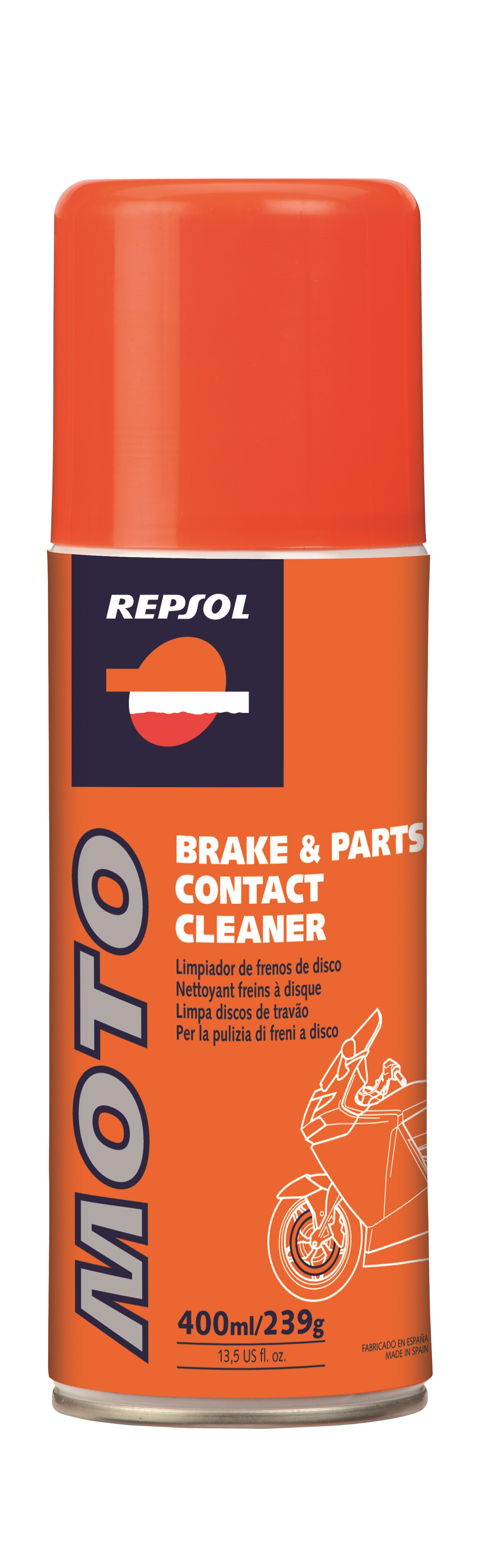 Spray curatare frane Brake Parts Cleaner 0,4L, Repsol 0