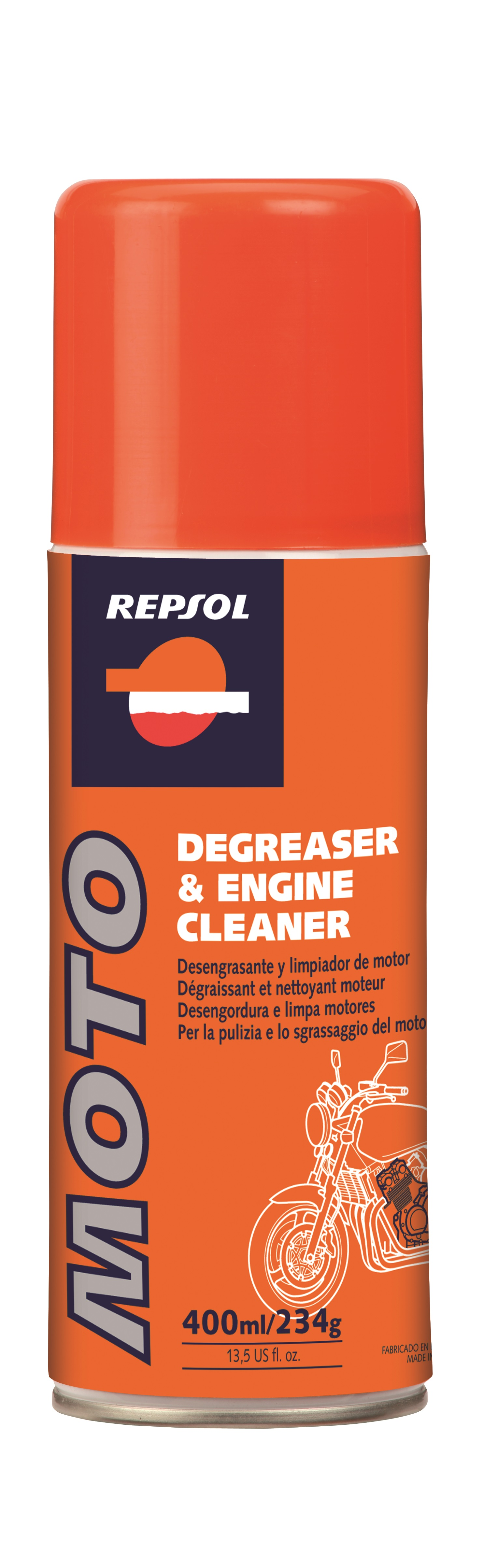 Spray polish moto Cleaner Polish 0,4L, Repsol [0]